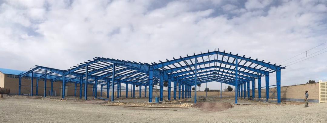 نصب سوله شرکت فواد الیاف واقع در شهرک صنعتی صفادشت